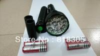 16000Lumens 15x CREE XM-L T6 LED Flashlight Torch Power By 4x26650/4x18650 Batteries