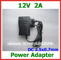 12V 2A Power Adapter DC 2.5x0.7mm EU US Charger for Yuandao N101 II Cube U9GT2 U9GT5 U30GT2 Ainol Hero Chuwi V9 W22pro N90FHD