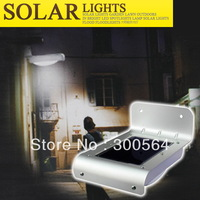 SOLAR LIGHTS LED HUMAN SENSOR LAMP /VOICE-ACTIVATED LIGHT 16LED OUTDOOR LAMP, SOLAR STREET LIGHT /SUPER BRIGHT SOLAR LED LIGHT