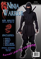 Free shipping 2013 new style ninja costume party halloween costume grim reaper + fast deliver exotic apparel