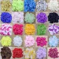 1000pcs/lot Silk Rose Petals Ideal Engagement Wedding Birthday Celebrations Free shipping
