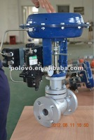 Pneumatic regulating valve water flow control valve