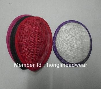 2013 new fashion ladies sinamay feather fascinator/headpiece/headwear