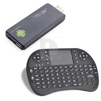 Hot Sale Andriod 4.2 MK809 III 8GB Quad core RK3188 HD MINI PC TV box Touchpad Keyboard 017589 Free Shipping