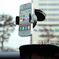 360 Rotating Car Mount Adjustable Stand Phone Holder for iPhone 5 5G 4 4S 3G 3GS Free shipping