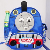 FREE SHIPPING/Hot Selling  Cartoon Preschool Children Schoolbag Boy Cartoon Kindergarten Bag Shoulder Bag.Thomas Kids School Bag