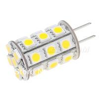 Free Shipment G6.35 LED Light 27pcs 5050SMD 4W Wide Volt DC10-30V/AC8-20V 5pcs/lot Dimmable