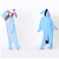 Professional New Arrived Style Eeyore Donkey Onesie Pajamas Fancy Dress Costume  Adult