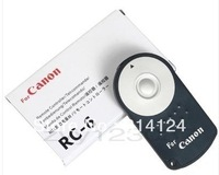 2pcs RC-6 RC6 RC 6 Remote Control for Canon EOS 450D 500D 550D 600D 7D 60D 5D MARK II,Free Shipping + tracking number