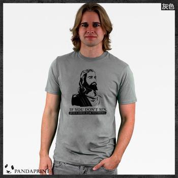 Jesus God Christian men short sleeve T-shirt cotton Lycra top new arrival Fashion Brand t shirt for men 2013 summer