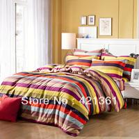 Rainbow Bridge 100% Cotton bedding set Reactive printing bedclothes  duvet cover sheet Pillow Cover king queen size  39