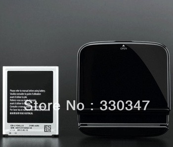 For Samsung Galaxy SIV S4 i9500 Oiginal  battery+ charging stand DESKTOP with logo  with Retail Packaging  Free Shipping