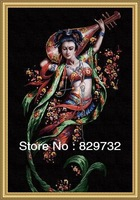 JIUJIU DIY digital oil painting Free shipping picture unique gift home decoration 60X90cm Dunhuang-Song of Lute paint by number