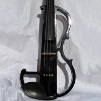 violin White electric violin 4/4, pickup, headset, rosin, bow. Accessories electro-acoustic  violin