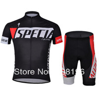 Free Shipping 2013 New Styles Short Specia BlackTeam Cycling Jerseys Bike Jersey+shorts.Man's outdoor sport riding Suit