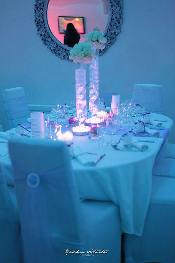 LED Wedding Table Centerpieces LED Vase Lights Table Decoration