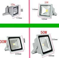 (10pcs/lot) 12V 10W /20W/30W/50W Outdoor LED Flood light lamp Waterproof Aluminium lamps LED floodlights landscape lighting