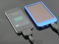 2600MAh solar power bank External Battery for ipad, iphone, smart phone
