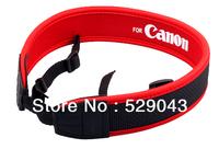 Adjusted Elastic Soft Neoprene Neck Strap  for Canon  6D 5D Mark II III 10D 20D 30D 40D 50D 60D 60Da 100D 700D  650D Wholesale