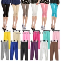 Candy Colors Sexy Stretchy Slim Women Leggings Pants Stockings