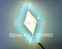 New  3D EL led car logo decorative light  car badge LED lamp Auto emblem led light Free shipping