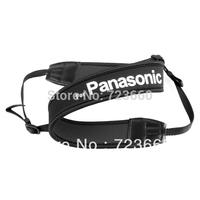 Black with White Logo Camera Neoprene Neck Shoulder Strap for Panasonic LUMIX DMC G3GK GX1 GF3 GF2 LX5