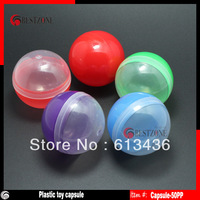 50mm plastic toy capsules for vending machine,100pcs/lot