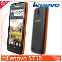 2013 New Waterproof Lenovo S750 mobile Phone Quad Core Android 4.2 1 GB RAM 4GB ROM 3G Wifi GPS Mobile Phone 8MP Camera