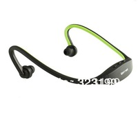 Free Shippng Sport MP3 Player Handsfree Headphones Wrap Around Wireless