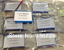 ChinaSY653450 653450 3.7V 1100mAh Li-ion Rechargeable Battery