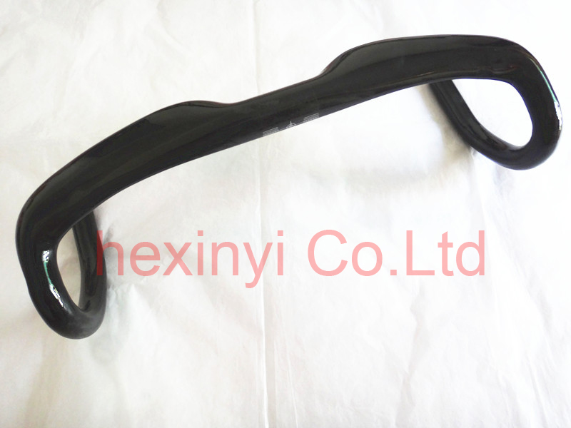 Newest road bike full carbon fiber Handlebar carbon bicycle Handlebar 31.8*400/420/440 carbon bike parts Free Shipping(China (Mainland))