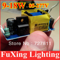 20pcs/lot free shipping 9w 12w 15w 18w LED light transformer,(10-18)X1W LED lamp power driver in common use for led DIY