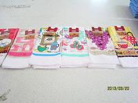 Promotion! whosale price microfiber printed tea towel 40*60cm at factory price