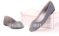wholesale price WHOLESALE FREE SHIPMENT Women's Genuine Pig Skin Leather casual shoes,Flexible shoes
