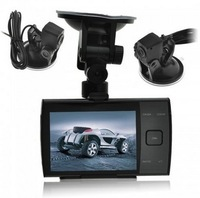 "HD 720P S3000A 3.5"" LED Screen Car DVR H.264 Motion Detection Cycle recording Night Vision Seamless Recording Free Shipping"
