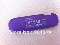 Free shipping New ZTE MF190 Unlocked 3G GSM 7.2Mbps USB Mobile Broadband Modem wireless network card