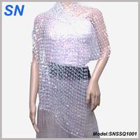 Sequin Scarf  Women's Shawl
