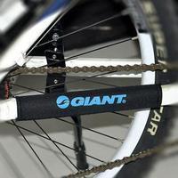 2pcs X New Black Cycling Bike Bicycle Chain Stay Protector Nylon Pad GIANT Logo