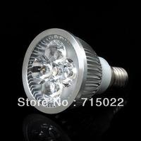 E14 4W LED Spot Light lamp bulb White/Warm White High Brightness 85-265V Free Shipping
