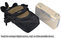 QUALITY TENBA XPRESS Portable Camera Shoulder Bag Pouch Case 638-522 for Compact DC-Olive green,waterproof DuPont Nylon Material