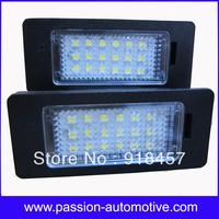 No Error LED License Number Plate lights for BMW E82 E88 E39 E60 E61 E70 E90 E91 E92 E93 M3
