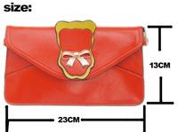 New !! Women's Handbag Satchel Shoulder leather Messenger Envelope Cross Body Bags Cosmetic Bag Purse Tote Bags Wholesale