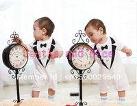 Wholesale Baby Romper ,new baby boys gentleman romper kids jumpsuits infants wear cotton clothes((BDL-113))