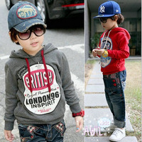 Free shipping! children Hoodies, Sweatshirts ,baby clothes , boys Long sleeve T-shirt,autumn clothes 5 pcs/lot