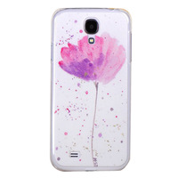 Fashion painted cute girl pig cat Dandelion Design cases covers for I9500 Galaxy S IV S4 Wholesale