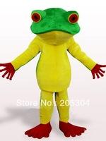 Frog Plush Adult Mascot Costume !Free Shipping
