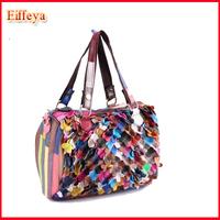 2014 New Girls Designer handbag Messenger bag Women Fashion Patchwork ol Pillow Small bags A681