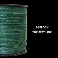 Free shipping & 100% PE. Multifilament Fishing Line Floating . Fishing Line . 500m 40LB Green