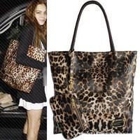 Hot Sale New Fashion High Capacity Korean Female Bag Leopard Shoulder Bag Handbag Women Bag BG1319