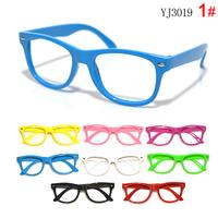 cheap children glasses frame 10pcs/lot  Kids  empty frame baby glasses frame mix color